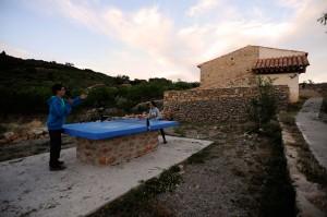 ping pong en Aldea Ecorural