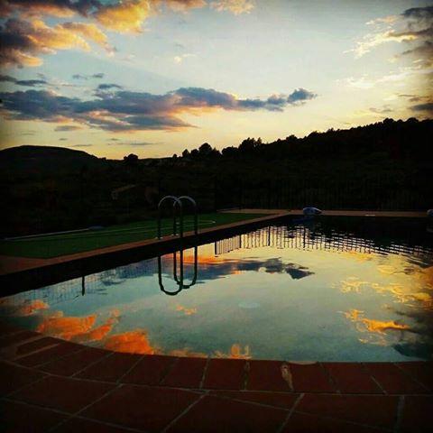 Aldea ecorural piscina casas rurales for Casas rural con piscina
