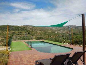 relax en piscina